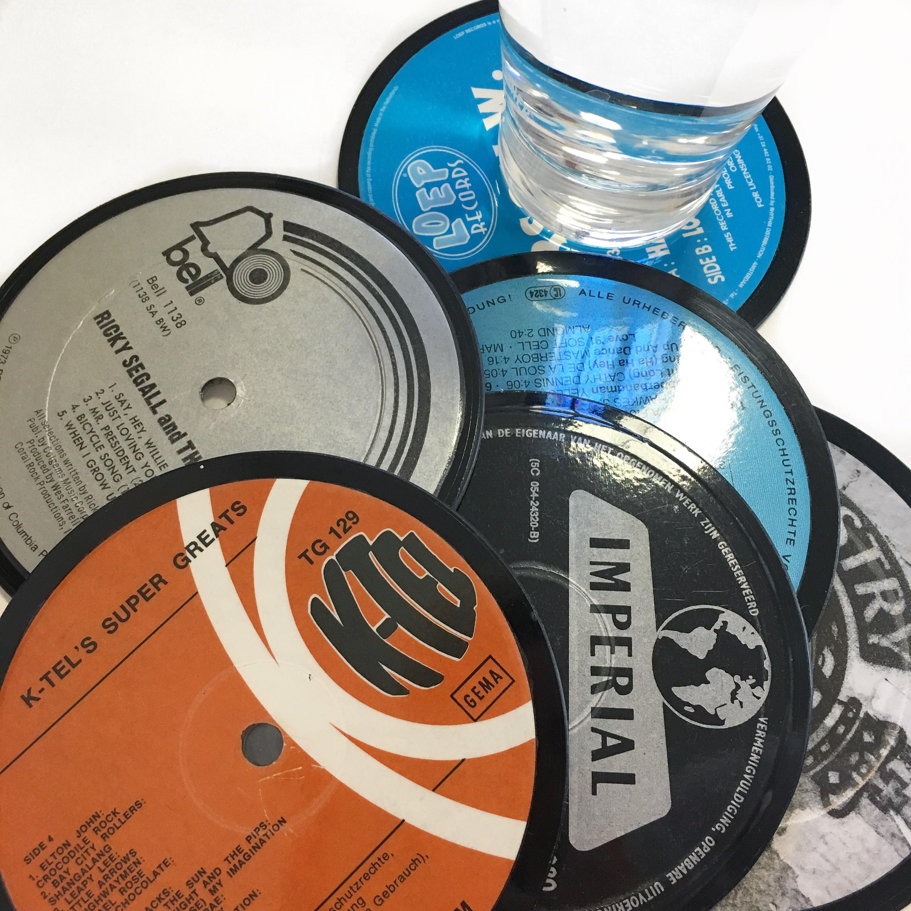 Upcycling Produkte Vinyl Garage